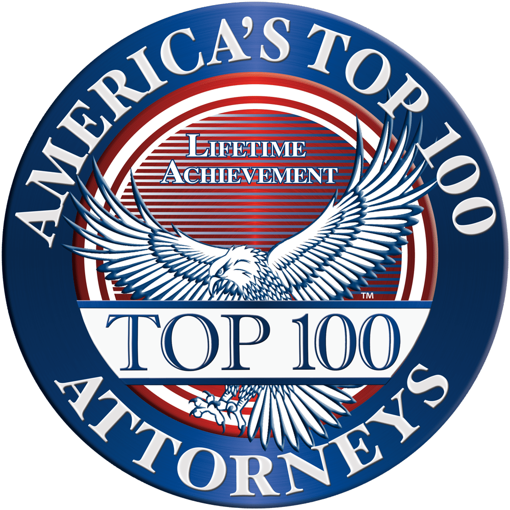 America's Top Attorney's Top 100 Lifetime Achievement